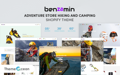 Benzamin - Adventure Store Hiking and Camping Shopify Theme