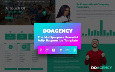 DoAgency - Business, Agency, Corporate, Finance, and Multipurpose Clean Responsive Website template