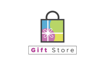 Gift Store Logo & Many Kind Of Businesses Logo template