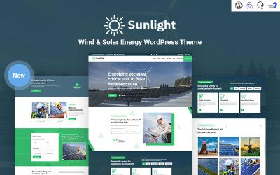 Napfény - Szél és napenergia érzékeny WordPress téma