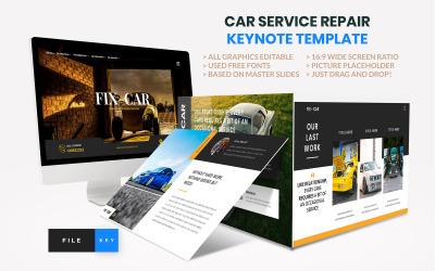 Car Repair Service Keynote Template