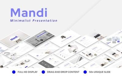 Mandi Minimalist Keynote Presentation