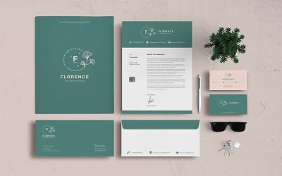 Florence - Stationery Corporate identity template