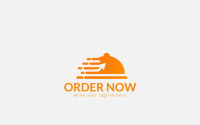 Food Ordering Logo Design Template