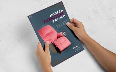 Furniture Flyer Sale Corporate Identity Template