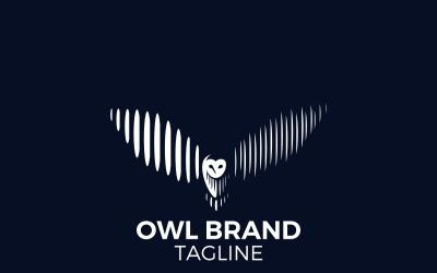Owl Logo - White Owl Logo - Owl Logo Template