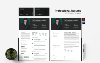 Professionals Design CV Printable Resume Templates