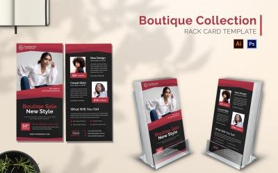 Boutique Collection Rack Card Brochure