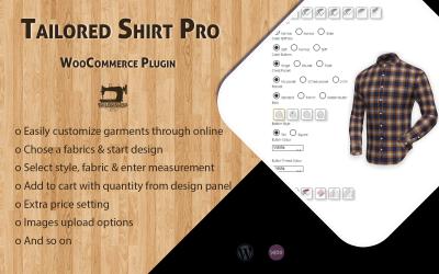 WooCommerce Tailored Shirt Online Pro - Plugin WordPress