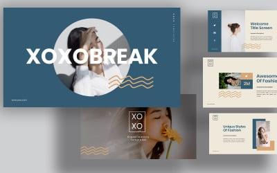 Xoxo Lookbook Powerpoint Templates