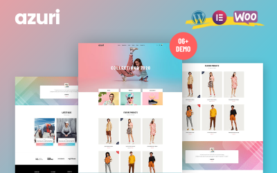 Azuri - WooCommerce WordPress Theme