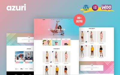 Azuri - WordPress тема WooCommerce