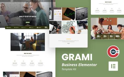 Grami - Business Elementor Kit