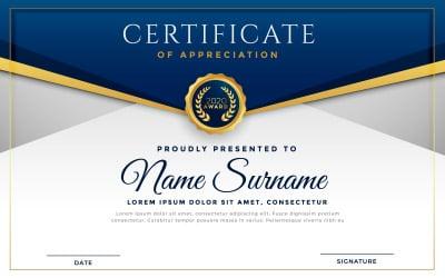 New Award Certificate Template