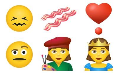 Emoji Icon Pack emoji stílusban