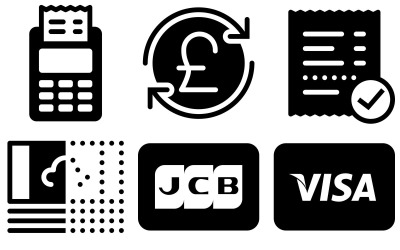 Finance Icon Pack in iOS Filled Style
