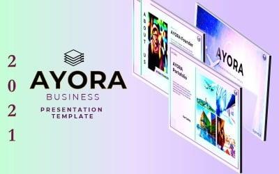 AYORA - Powerpoint bemutató sablon