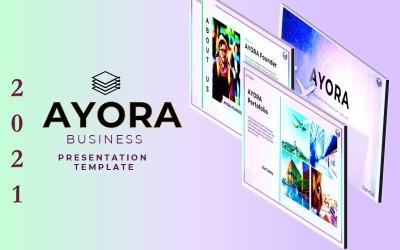 AYORA - PowerPoint-presentatiesjabloon