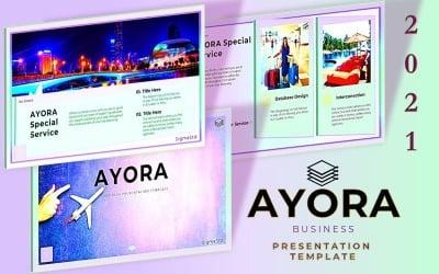 AYORA-Google幻灯片演示模板