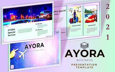 AYORA - Modèle de présentation de diapositives Google
