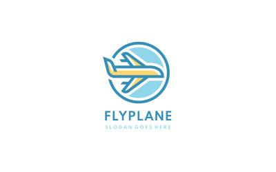 Plane Flight Logo Template