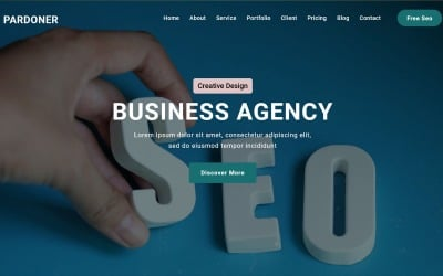 Pardoner -  Seo Digital Agency Landing Page Theme