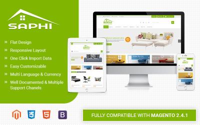 Saphi - Érzékeny Magento 2 téma