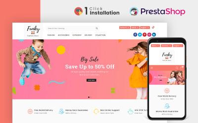 Тема Prestashop магазину модного магазину