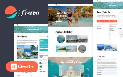 Travo - тема Wordpress Elementor для путешествий и туризма