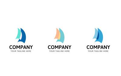 Nautical Marina Logo Template