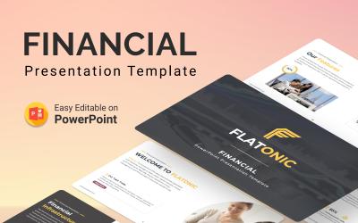 Flatonic – Financial PowerPoint Presentation Template