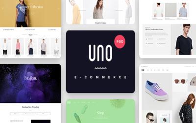 Šablona PSD obchodu Aloxa Online Store
