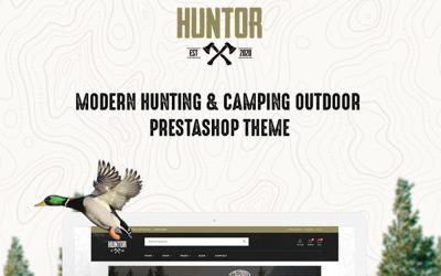 TM HUNTOR-狩猎和户外商店预售主题