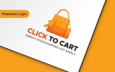 Click To Cart Logo Template