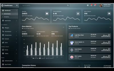 Dashtrans - Bootstrap5 Admin Template