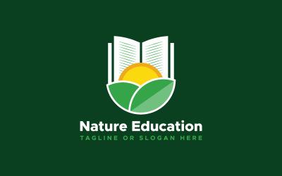 Nature Education Logo Template