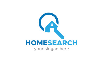 Search Homes Logo Template
