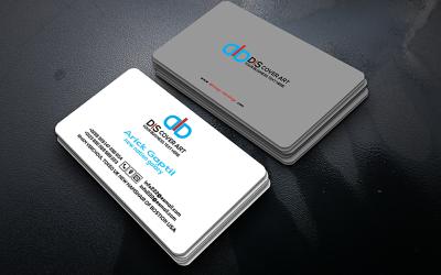 Modern Business Card so-74