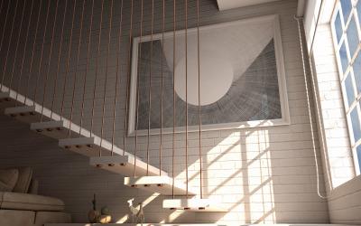 Photorealistic Indoor House Product Mockup