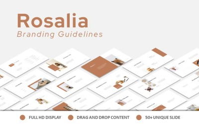 Rosalia Branding Guidelines Keynote