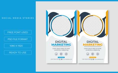 Business Social Post Template Design Social Media
