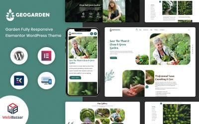 GeoGarden - Gardening and Landscaping WordPress Elementor Theme