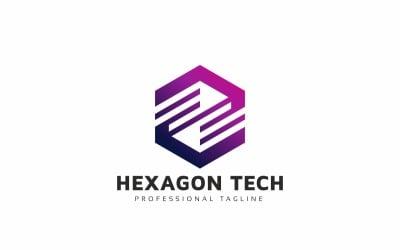 Hexagon Technology Box Logo Template