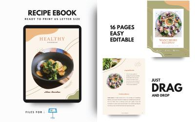 Recipe Book Cookbook Keynote Template Presentation