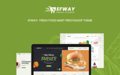TM Efway - Organic Fresh Food Mart PrestaShop Theme