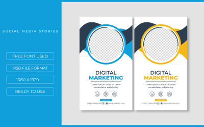 Two Instagram Quote Promotional Templates for Social Media Design