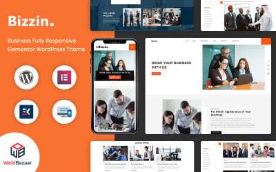 Bizzin - Technology & IT Solution Services WordPress Theme