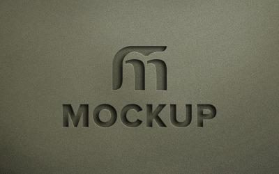 Debossed Effect Logo Product Mockup