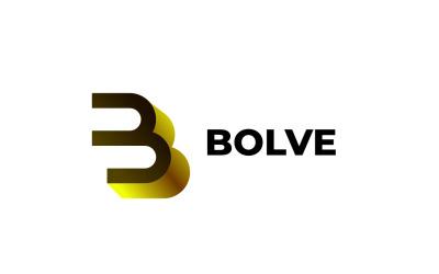 Golden B - Three Logo Template