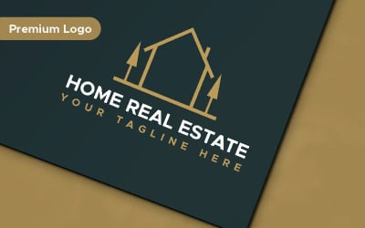 Home Real Estate Minimalist Logo Template